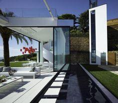 Modern Mansion On The Cliffs Of Costa Brava, Spain