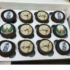 Uae army cupcake