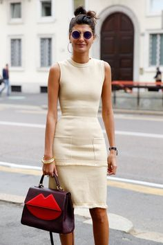 Pin for Later: All the Best Street Style From Milan Fashion Week Milan Fashion Week, Day 5 Giovanna Battaglia.