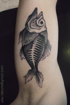 fish tattoo | Tumblr