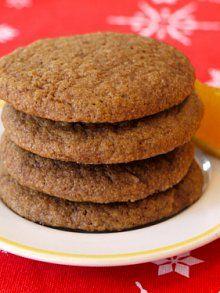 Orange Ginger Cookies | Weelicious