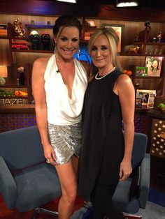 "Real Housewives of New York's Luann de Lesseps Debuts Her New Song ""Girl Code"" And Sonja Morgan Dishes On Her Co-Stars And More"