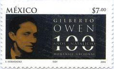 HOMENAJE NACIONAL 100 AÑOS NATALICIO GILBERTO OWEN, MÉXICO 2004