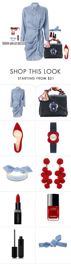 """Go!"" by claire86-c on Polyvore featuring moda, Veronica Beard, Paula Cademartori, Shoes of Prey, Orla Kiely, Monica Sordo, Humble Chic, Smashbox, Marc Jacobs e Colette Malouf"
