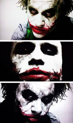 WHAT A SCARY PICS (Unpublished pictures of Heath Ledger as the Joker)