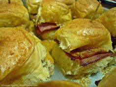 Royal Domesticity: Baked Hawaiian Ham Dinner Rolls
