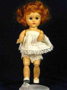 This is a Ginny doll from the 50's.My sister had one.