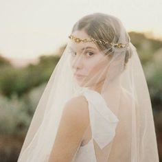 """Gold floral wedding hair wreath with pearls """"Callan"""" can be made with optional veil Stone Fox Bride, Wedding Looks, Bridal Looks, Bridal Style, Perfect Wedding, Crown Hairstyles, Wedding Hairstyles, Hairstyle Ideas, The Bride"""