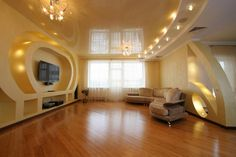 http://taizh.com/wp-content/uploads/2015/11/interesting-yellow-gloss-ceiling-with-lighting-as-well-tv-wall-mount-and-brown-sofa-plus-wooden-floor.jpg