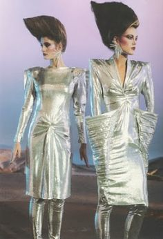 Thierry Mugler 1978... not 80s, but definitely the beginning of new wave