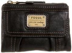 Bolsa Fossil Emory Multi-Function SL2932 Wallet,Black,One Size #Bolsa #Fossil