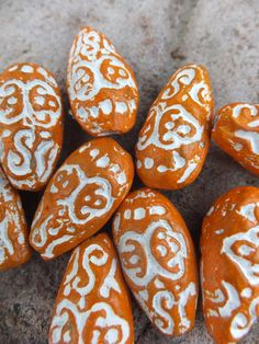 Ethnic Clay Handmade Beads by 4HeartAndMind on Etsy