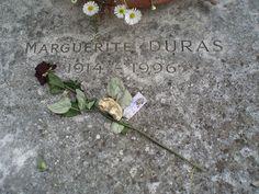 The grave of Marguerite Duras - Montparnasse cemetery, Paris http://www.flickriver.com/photos/addadada/sets/72157632065177758/