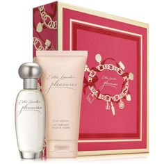 Enchant her with a duo of sheer pleasures. Limited-time collection includes these favorites in an exclusive gift box: Eau de Parfum Spray, 1 oz. Estee Lauder Fragrances, Estee Lauder Pleasures, Rose Perfume, Nordstrom, Cosmetic Sets, Health Shop, Unique Presents, Parfum Spray, 1 Oz