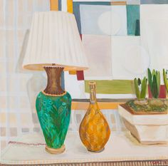 Cricket Fine Art are delighted to announce new works by Lottie Cole Artist. In addition to her latest pieces, Lottie will also be holding a #Solo #Exhibition at our #Chelsea #Gallery. For more information, join our exclusive mailing list via link in image.  _________________ Lottie Cole Ben Nicholson, Lamp, Vase and Hyacinth Bulbs Signed #Oiloncanvas 39 3/8 x 39 3/8 in 100 x 100 cms (LC052)