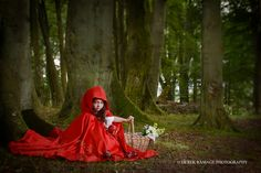 little red riding hood photoshoot children - Google Search