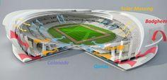 Qatar FIFA Stadium, Tangram Qatar Stadium, Nigel Eckersall, sustainable stadium Qatar, Qatar 2022 World Cup, stadium passive cooling, natural ventilation stadium, sports architecture, passive cooling, energy efficient stadium