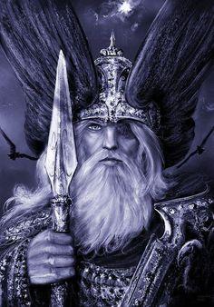 From The Hávamál, the Sayings of The High One(Wotan):  Mildir frœknir  menn bazt lifa  sjaldan sút ala  en ósnjallr maðr  uggir hotvetna  sýtir æ gløggr við gjöfum    Generous, valiant  men live best,  and seldom nourish sorrow;  but the cowardly man  fears all sorts of things  and the niggard is always troubled about gifts.
