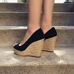 The perfect Espadrille wedge! (Available in other colors) #vincecamuto #nordstrom #readytowear #spring15 | Content shared via nordstrom Inspiration Gallery