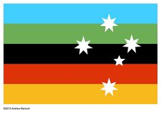 Australian Flag Proposal (2013) _ Andrew Barnum