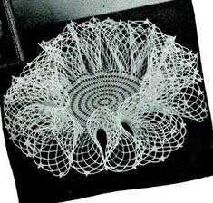 Ravelry: Ruffle Doily pattern by American Thread Company Crochet Starfish, Crochet Ruffle, Crochet Dollies, Crochet Squares, Thread Crochet, Crochet Stitches, Vintage Crochet Doily Pattern, Free Doily Patterns, Crochet Patterns