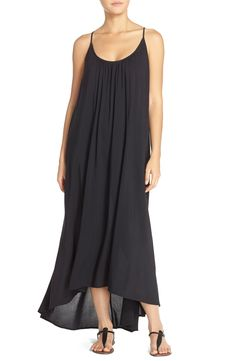 99edb9d40d Vince Camuto 'Polish Solids' Racerback Cover-Up Maxi Dress Racerback Maxi  Dress,