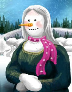 """Snowy Mona"" by Tom Wood"