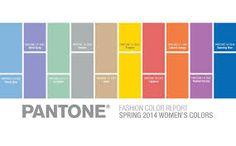 pantone colour SS 2014