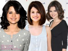 Selena Gomez Short Hairstyles - Selena Gomez's cool looks have inspired many young girls, but the most iconic look is her bob. Learn more about Selena Gomez's short hairstyles and pick your fave look. Homecoming Hairstyles, Summer Hairstyles, Trendy Hairstyles, Wedding Hairstyles, Selena Gomez, Bald Men, Thing 1, Pastel Hair, Cool Haircuts