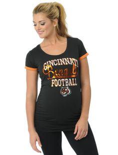 b4484b7c27904 Motherhood Maternity Cincinnati Bengals NFL Maternity T Shirt Cincinnati  Bengals, Maternity Fashion, Mlb,