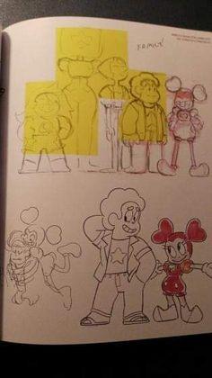 Steven Universe Art Book, Steven Universe Drawing, Cartoon Net, Cartoon Shows, Art Reference Poses, Drawing Reference, Universe Images, Universe News, A Level Art Sketchbook