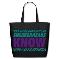 sneakerheads know 2 Tote Bag | fancyboutique