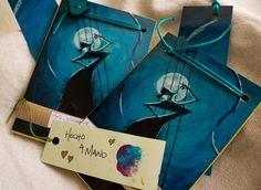 """Mini Libreta """"Soy Flamenca"""" de Arte, Grabado e Ilustración por DaWanda.com"""