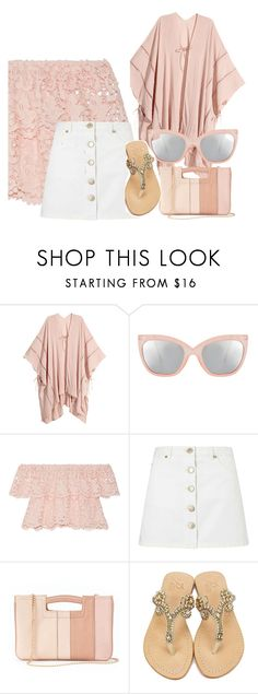 """""""Untitled #67"""" by kmproducts ❤ liked on Polyvore featuring ASOS, Miguelina, Miss Selfridge, LC Lauren Conrad and Madura"""