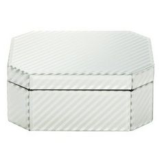 Threshold™ Jewelry Box - Silver Stripe Small : Target Mobile