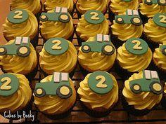 John Deere Cupcakes! :)