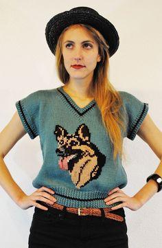 Rin Tin Tin #Sweater #knitting