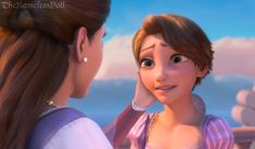 This Artist Gave All the Disney Princesses a Haircut and the Results Are Gorgeous - Rapunzel, Tangled