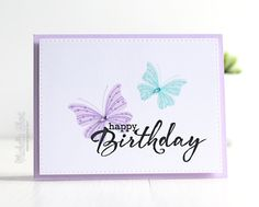 The Card Grotto: CB Teasers | Birthday Butterflies
