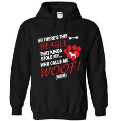 This Beagle Stole My Heart T-Shirts, Hoodies. GET IT ==► https://www.sunfrog.com/Pets/This-Beagle-Stole-My-Heart-8283-Black-Hoodie.html?id=41382