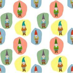 gnome pattern repeat by Robayre