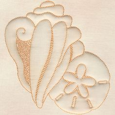 Shell & Sand Dollar #12396-14 Hand Quilting Patterns, Machine Quilting Designs, Machine Embroidery Patterns, Longarm Quilting, Free Motion Quilting, Embroidery Applique, Beaded Embroidery, Cross Stitch Embroidery, Embroidery Designs