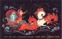 russian christmas cards - Google-haku