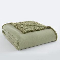 Micro Flannel® Sherpa Reversible Throw Blanket