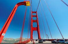 Traversée à vélo du Golden Gate - San Francisco, Californie, USA