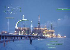Oil&Gas on Behance