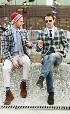 Tommy Ton Men's Street Style