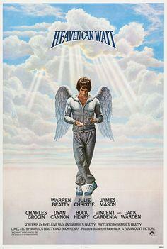 """Heaven Can Wait"", (1978). Warren Beatty, Julie Christy, Charles Grodin, Dyan Cannon, & the wonderful Jack Warden."
