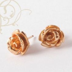 Rose earings