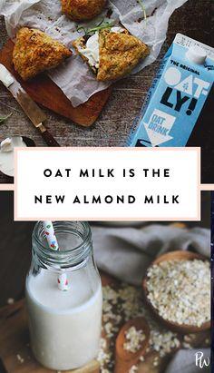 We're Calling It Now: Oat Milk Is the New Almond Milk #oatmilk #almondmilk